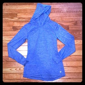 Old Navy Blue/Purple Long Sleeve Dry Fit Top
